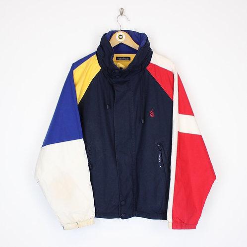 Vintage Nautica Reversible Jacket Large