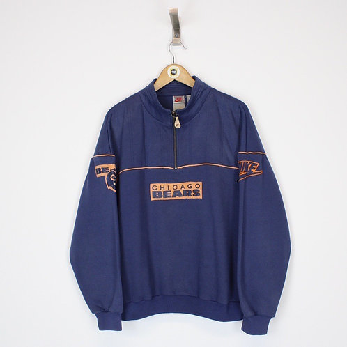 Vintage Nike Chicago Bears Sweatshirt Medium