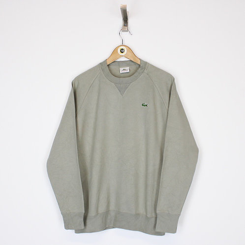 Vintage Lacoste Sweatshirt Medium