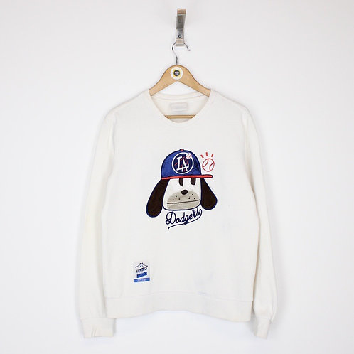 Vintage LA Dodgers MLB Sweatshirt Small