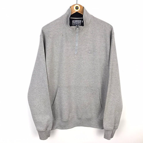 Vintage Champion 1/4 Zip Sweatshirt Medium