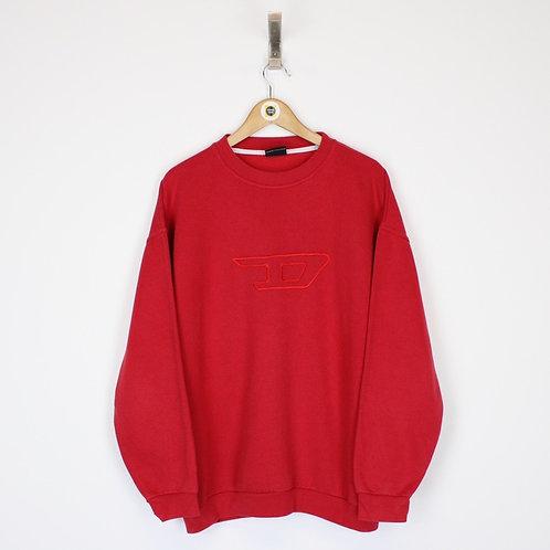 Vintage Diesel Sweatshirt Large