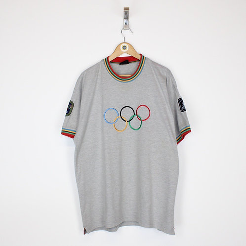 Vintage Adidas 1956 Melbourne Olympics T-Shirt Large
