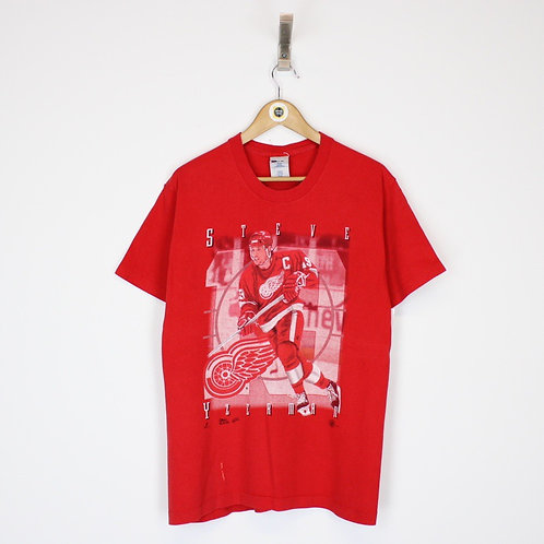 Vintage Detroit Red Wings NHL T-Shirt Small