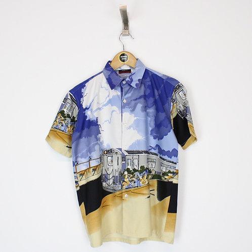 Vintage Abstract Shirt XS