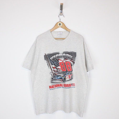 Vintage 2008 Dale JR Nascar T-Shirt XL