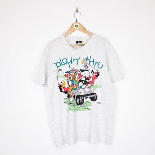 Vintage 1993 Warner Bros T-Shirt Large