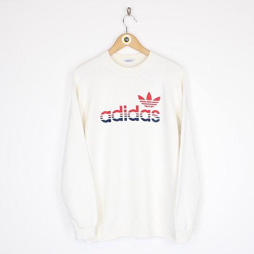 Vintage 80's Adidas Sweatshirt Medium