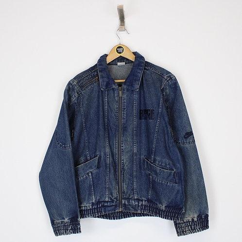 Vintage 1990 Nike Denim Jacket Medium
