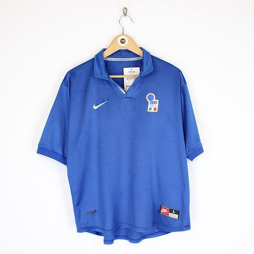 Vintage Nike Italy 1997/98 Football Shirt M/L