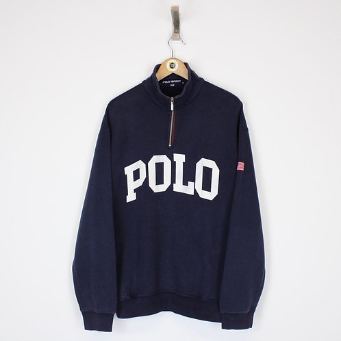 Vintage Polo Sport Sweatshirt Medium