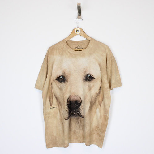 Vintage Dog Graphic T-Shirt Large