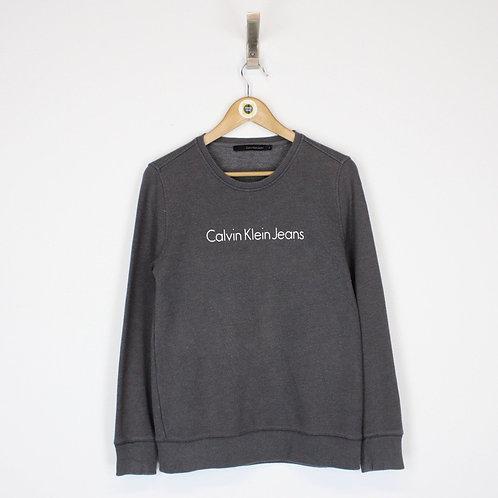 Vintage Calvin Klein Sweatshirt Small