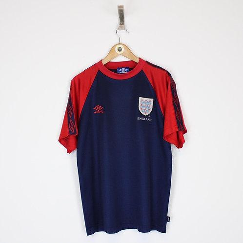 Vintage 1997/99 England Football Shirt Medium