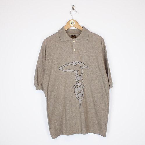 Vintage Trussardi Polo Shirt XL