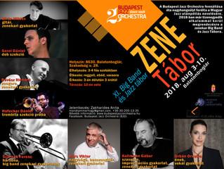 XI. Big Band és Jazz Tábor a Budapest Jazz Orchestrával