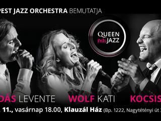 A Budapest Jazz Orchestra bemutatja Queen Real Jazz