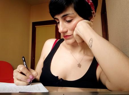 ¿Escribir durante la cuarentena?