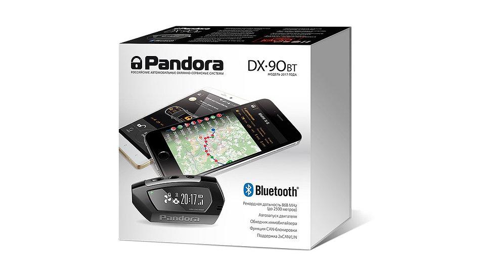 Автосигнализация Pandora DX 90BT
