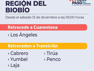 3er Día de Cuarentena Total Los Ángeles  BioBio.🇨🇱