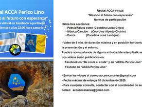 """2º Recital ACCA Virtual """"Mirando al futuro con esperanza"""""""