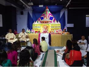 La comunidad hindú en Canarias celebra el aniversario del Dios Ganesh