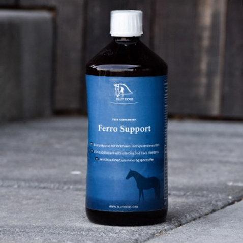 Blue Hors Ferro Support