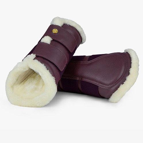 Brushing Boots Wine