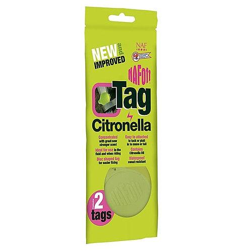 NAF Citronella Tag (2pk)