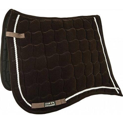 HKM-Sports Velvet Saddlecloth  Antique