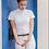 Thumbnail: Casa Borrell White Silvana Silver Stevneskjorte
