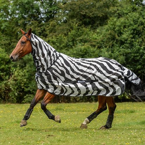 Bucas Buzz-Off Full-Neck Zebra