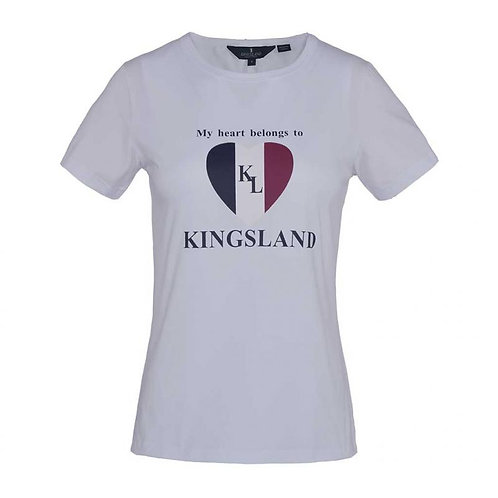 Kingsland Heart Cotton Tee