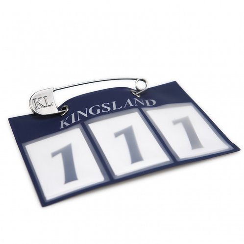 Kingsland Number Plate (plate+pins)