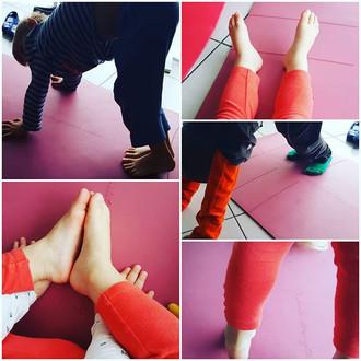 Petite séance yoga avec les enfants ce m