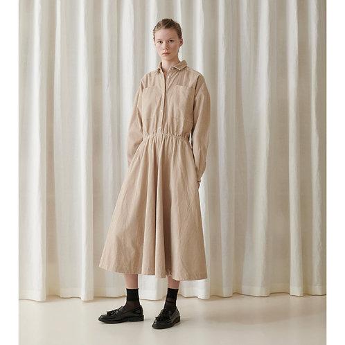 Skall Studio Karen Shirtdress, cream cord