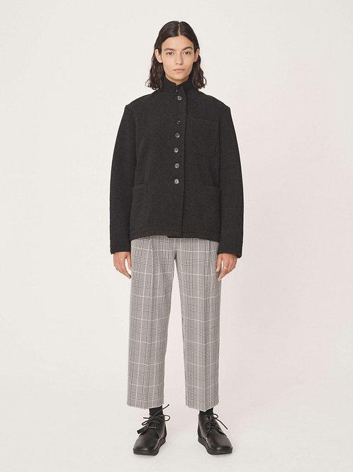 YMC City Jacket, charcoal wool.