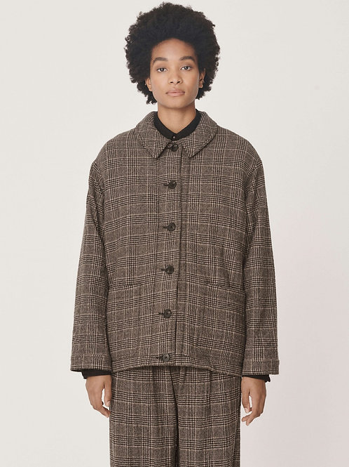 YMC Fanny Jacket, brown check