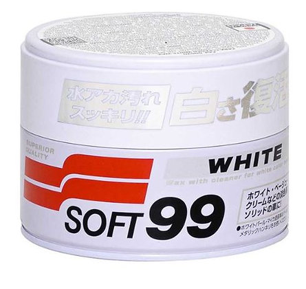 CERA SOFT99 CAR WAX WHITE