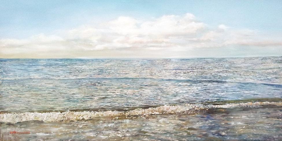 a quiet sea 1 40X100 cm.jpg