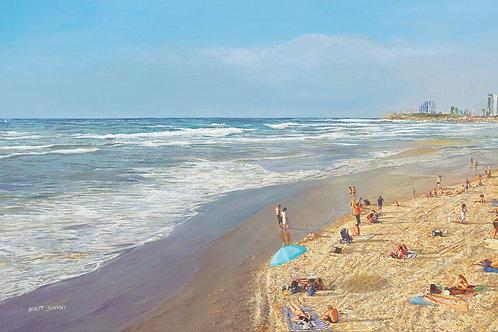 Tel Aviv Sea Shore_ no 554_from afar