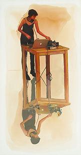 The DJ, 100x40cm.jpg