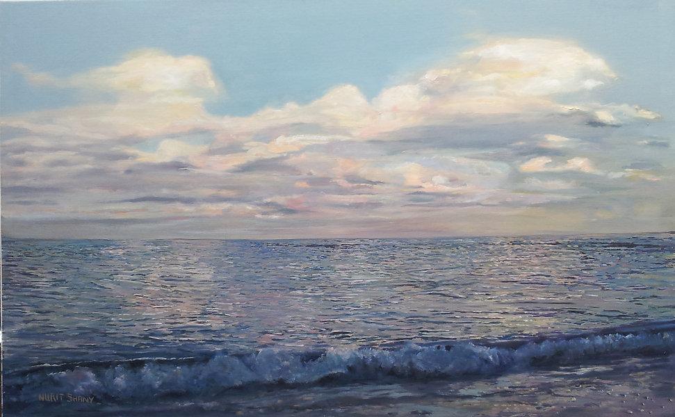 50X110 cm , nurit shany, oil on canvas,