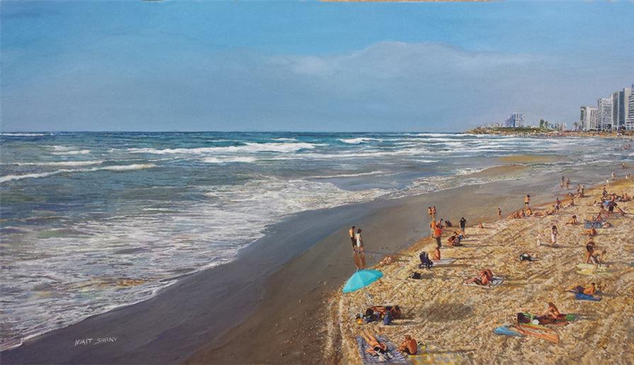 Tel Aviv sea shore140X80 cm 72.jpg