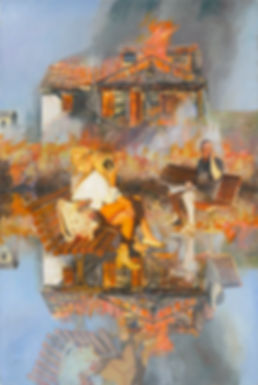 Escapism - Nurit Shany's recent series: Image-Reality-Reflection is inspired by the multiple parallel existence'sand paradigm shift and Thomas Kuhn theory. Expressing global issues ofglobal changeexpressed through conceptual imagery.