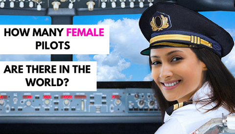 How Many Female Pilots Are There in the World?