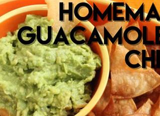 RECIPE: Homemade Chips & Guacamole