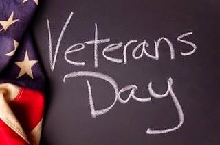 Happy Veteran's Day from GradMoney!