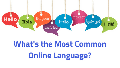 What's the Most Common Online Language?