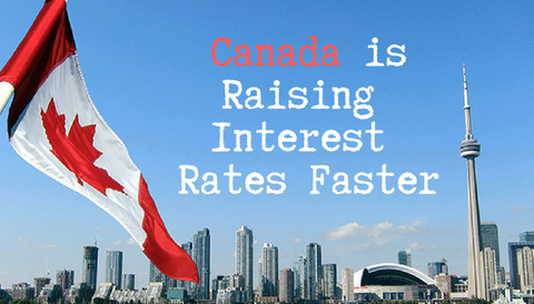 Canada is Raising Interest Rates Faster